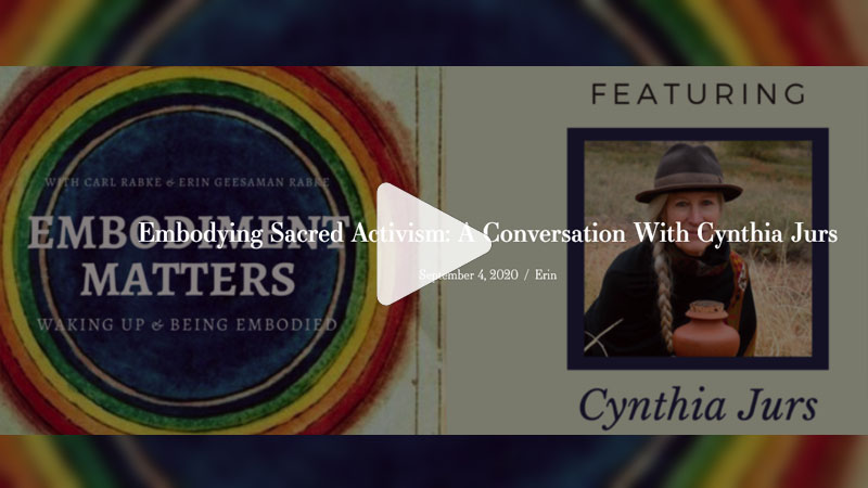 Embodiment Matters Podcast with Cynthia Jurs