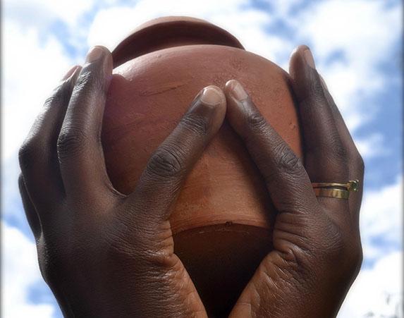 Earth Treasure Vase - Gaia Mandala